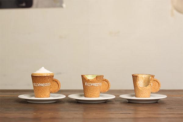 所さんお届けモノです お取り寄せ 展示会 エコプレッソ 食べられるカップ