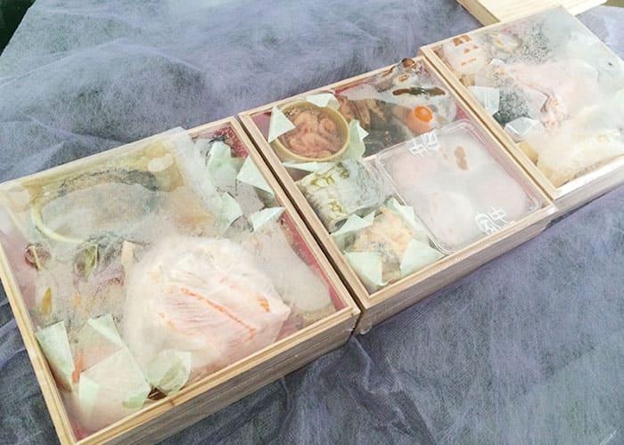 三陸海宝漬 中村家 おせち 冷凍保存